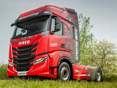 IVECO - tahače a velkoobjemová vozidla